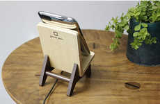Seating-Inspired Phone Stands