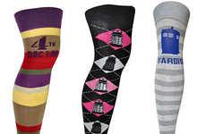 Sci-Fi Patterned Stockings