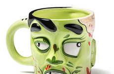 Rotting Flesh Coffee Cups