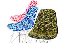 Blotchy Bright Camo Furniture