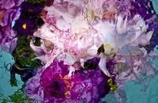 Surreal Submerged Bouquet Photography