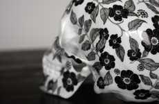 Blooming Cranium Sculptures