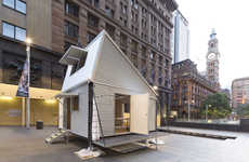 Resourceful Corrugated Cabins