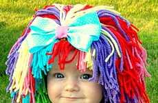 Hilarious Infant Hair Hats
