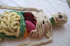 Knit Anatomical Art