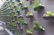 Plastic Bottle Vertical Gardens