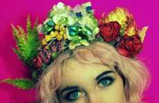 Eccentric Floral Headbands