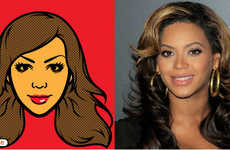Animated Celebrity Makeovers