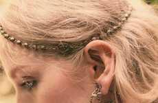 Delicately Beaded Headpieces