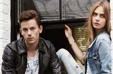 Edgy British Model Campaigns