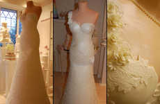 Life-Size Wedding Dress Desserts