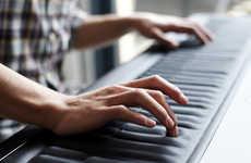 Continuous Skin Pianos