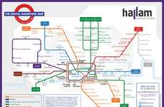 Subway-Inspired Media Charts