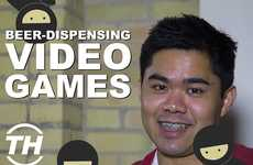 Beer-Dispensing Video Games
