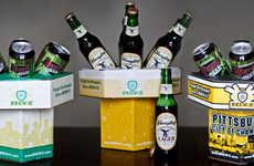 Beer-Displaying Boxes