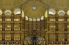 Symmetrical Library Hyperphotos