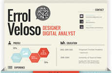 QR-Coded Creative Resumes