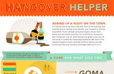 Hangover Curing Infographics