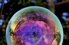 Reflective Bubble Closeups