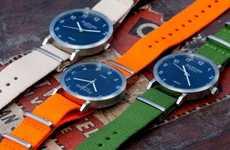 Minimalist Scandinavian Timepieces
