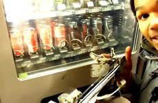 Robotic Vending Machine Thieves