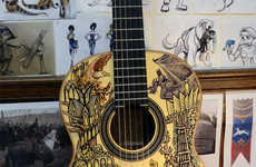 Fantasy Trilogy-Designed Guitars