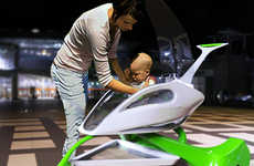 Spaceship-Inspired Prams