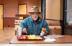 Fast Food Customer Portraits