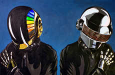 55 Electric Daft Punk Products