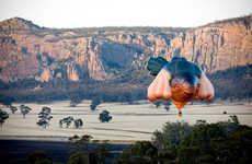 Animalistic Hot Air Balloons