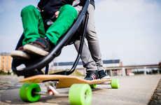 Longboard Strollers