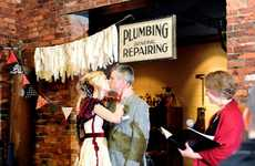 Plumbing-Themed Weddings