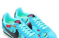 Tropical Floral Footwear