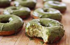 Buttermilk Green Tea Donuts