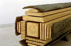 Dissected Lumber Sculptures