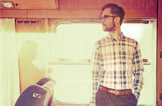 Train-Travelling Hipster Fashions