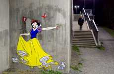 Violent Princess Street Art
