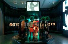Punk-Fashion Evolution Exhibits