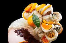 Food-Inspired Makeup Designs