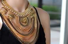 Layered Chain Necklaces