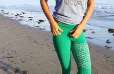 Mermaid-Inspired Activewear