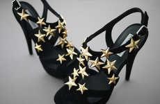 DIY Star-Accented Heels