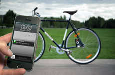 Rider-Warning Bike Locks