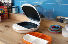 Compartmentalized Meal Warmers