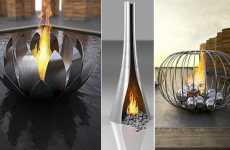 Luxury Fire Sculptures