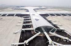 Futuristic Fish-Shaped Airports