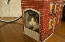 Brownstone Feline Town Homes