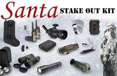 Santa Hunt Stakeout Equipment
