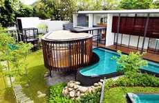 Luxurious Curvilinear Pavilions