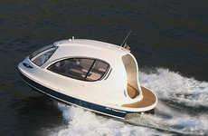 Futuristic Capsule Yachts
